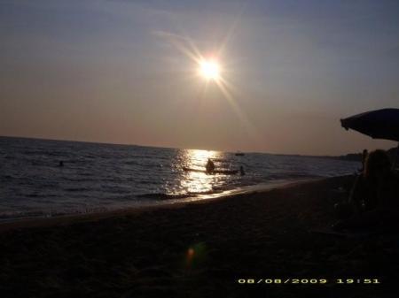 Ηλιοβασίλεμα στον Μαραθιά